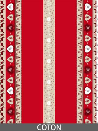 Méribel rouge - Coton_regle