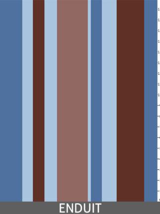 Métissage bleu 922 - Enduit_regle