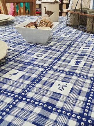 Nappe Au coeur de l'Alsace bleu ATT