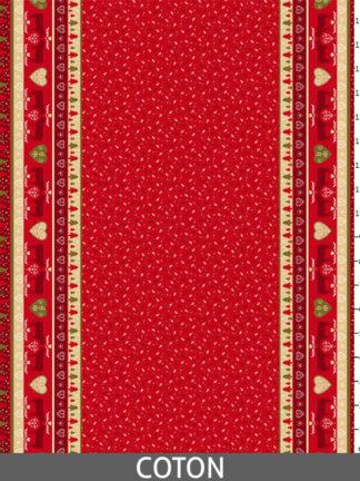 Morzine rouge - Coton_regle