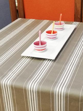 nappe enduite - rayure matelas