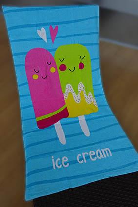 Drap de plage - Enfant - Ice Cream