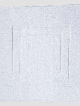 Tapis de douche blanc